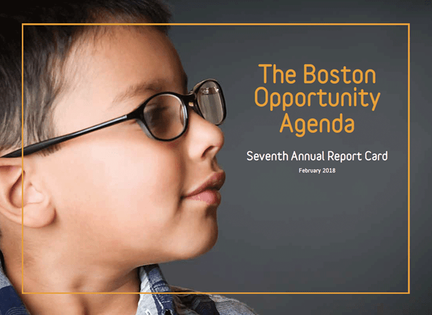 Boston Opportunity Agenda Seventh Annual Report Card cover