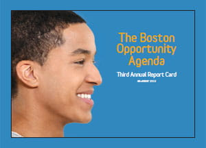 Boston Opportunity Agenda 3rd Report Card cover